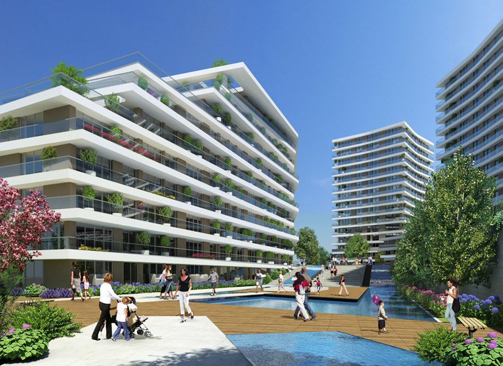 Modern Residential Apartments in Istanbul
