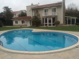 Amazing villa with nice garden in Istanbul