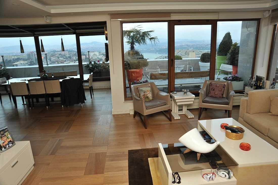 Etiler apartment for sale in Istanbul sea view